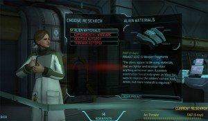 XCOM Enemy Unknown Research Scene