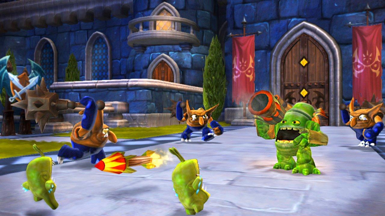 Skylanders Giants_PS3_Zook in Kaos Kastle