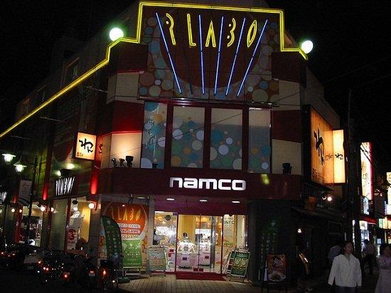 namco arcade
