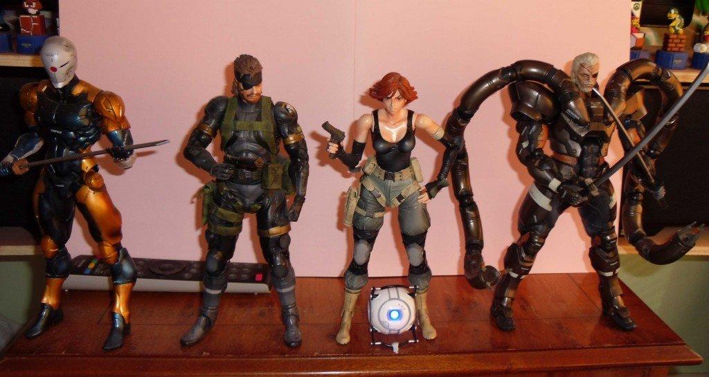 Ninja, Snake, Meryl, Solidus and Wheatley cropped