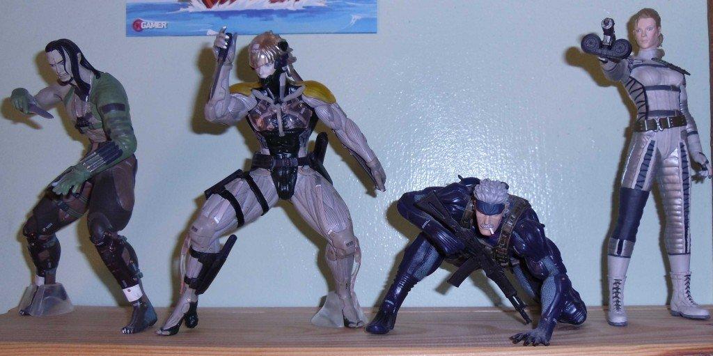 Vamp, Raiden, Snake and Boss cropped