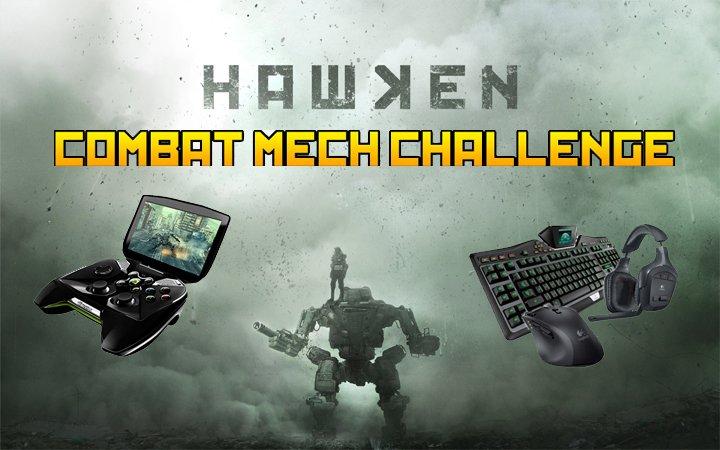 hawken combat mech challenge art contest