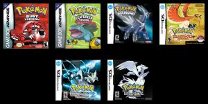 'Pokémon' - Third Generation to Fifth Generation
