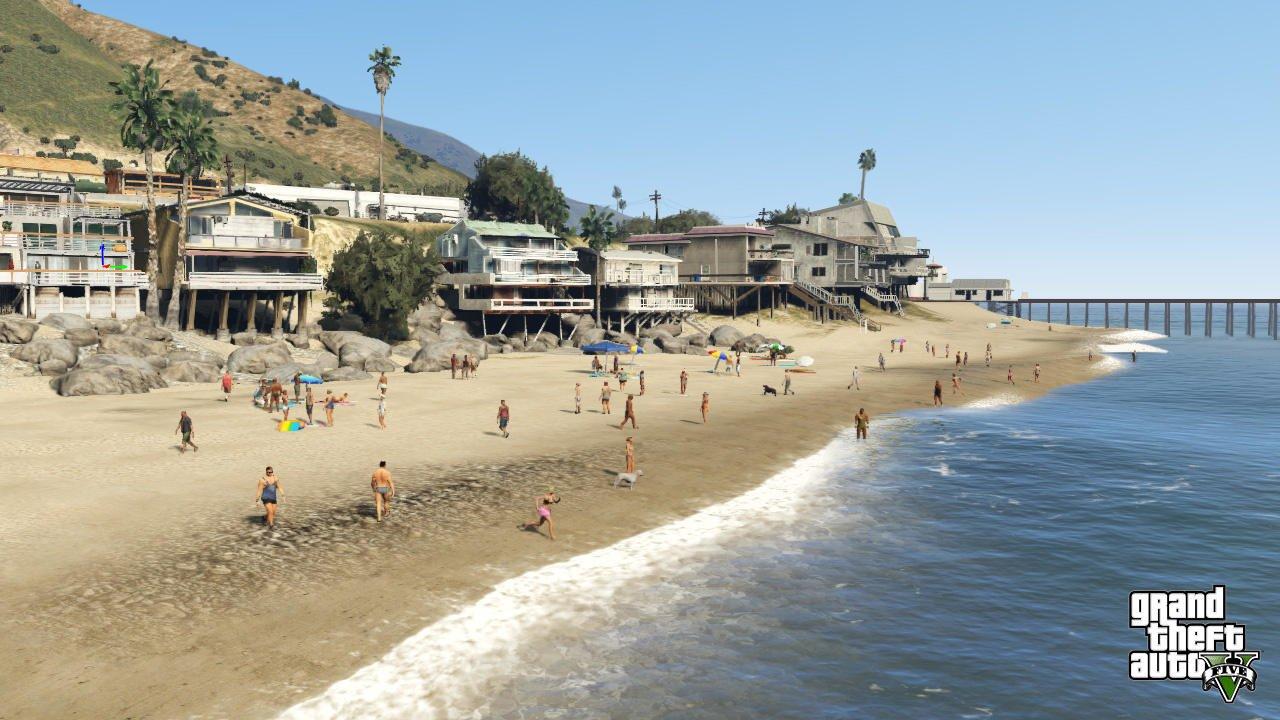 Grand Theft Auto 5 - Beach Villa