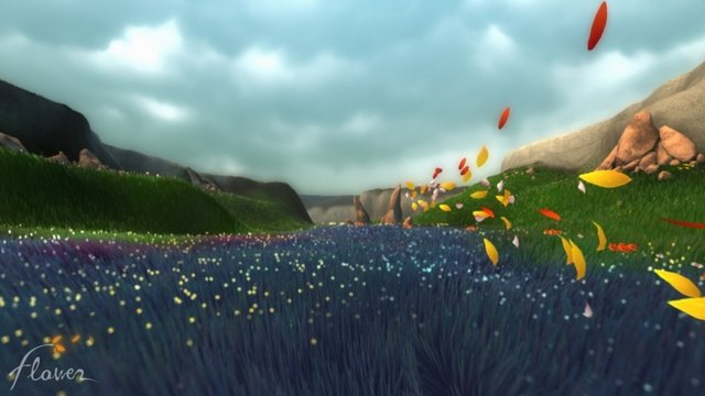 Flower gameplay on the playstation 4