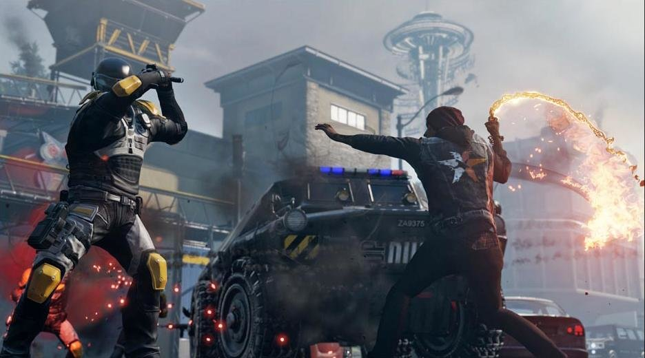 infamous second son combat gameplay on ps4