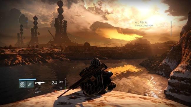 destiny alpha landscape gameplay on ps4