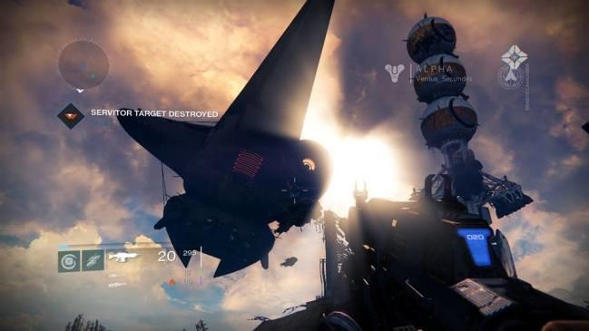 destiny alpha random event