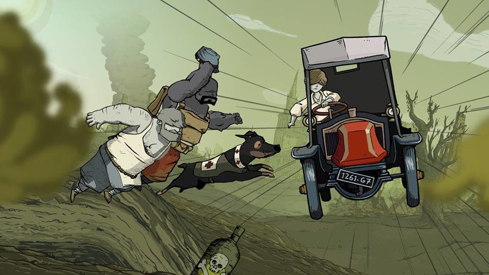Valiant Hearts the great war Characters on ps4