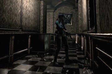 Jill in a famous hallway.