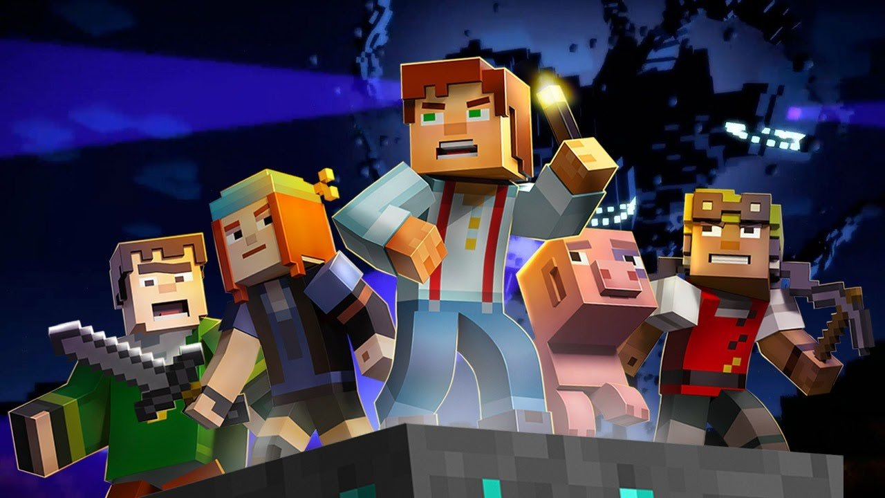 Minecraft story mode на андроид 3 эпизод